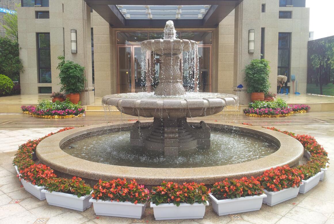喷泉池钵5